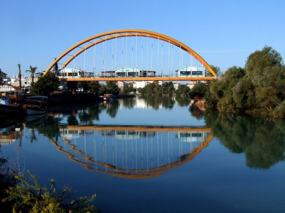 Manavgat - A bridge on Manavgat River