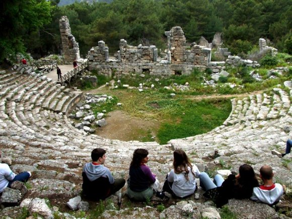 Phaselis - Theater
