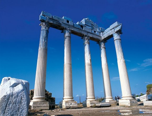 Side - Temples of Apollo and Athena