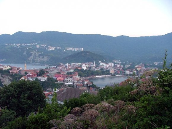 Two bays inside Amasra