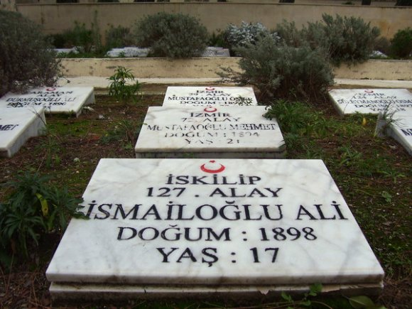 17 years old martyr grave