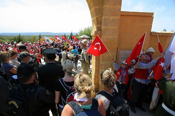 Gallipoli, 57th Regiment Memorial - Anzac Day 2007, Turkish 57th Regiment Memorial Service