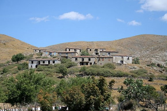 Gökçeada - Dereköy, It was the largest village of Turkey once a while with 1950 houses. Most of them have been left.