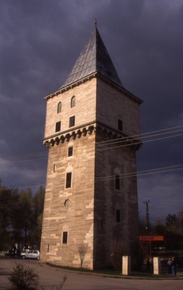 Edirne - Justice Tower, a part of old Edirne Palace.