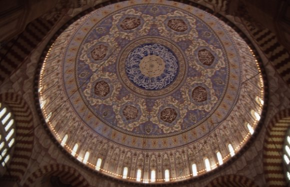 Edirne - Dome of Selimiye Mosque