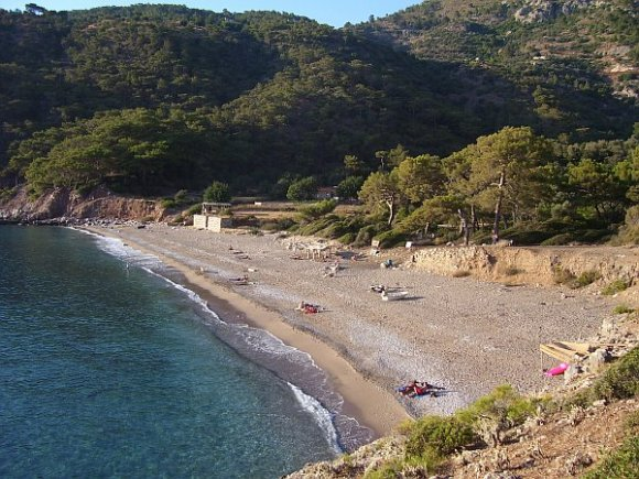 Beach in Kabak Valley