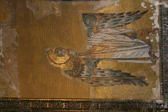 Mosaic of an angel