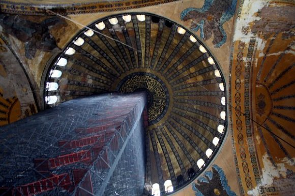 Magnificent Dome of Hagia Sophia