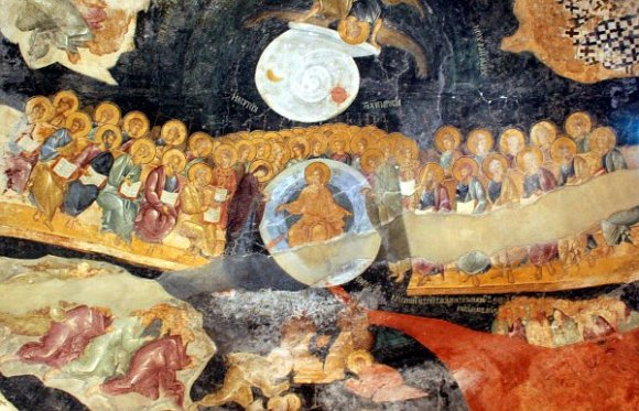 Istanbul - Kariye Museum / Chora Church - Last Judgment