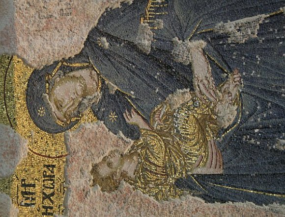 Istanbul - Kariye Museum / Chora Church - The Virgin with the Christ Child