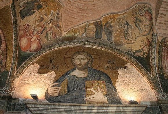 "Istanbul - Kariye Museum / Chora Church - Christ as ""The Land of the Living"""