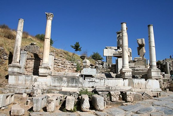 Ephesus - Monumental Fountain