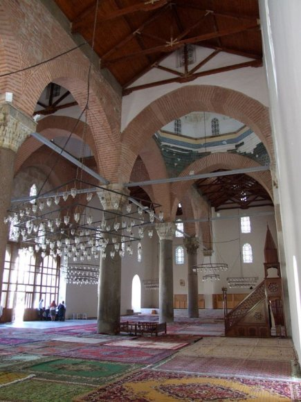 Selçuk - Isa Bey Mosque. Isa Bey Mosque is one of the most important works of the Turkish Aydin Emirate (Aydinogullari) who rule