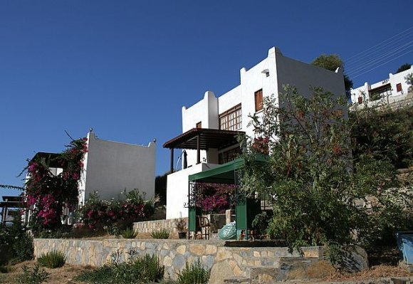 Bodrum - White bodrum houses