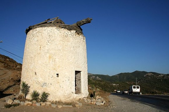 Bodrum - An old windmill