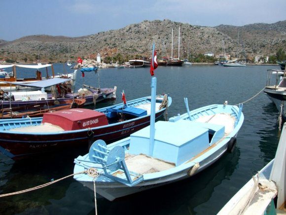 Marmaris - Fishing boats