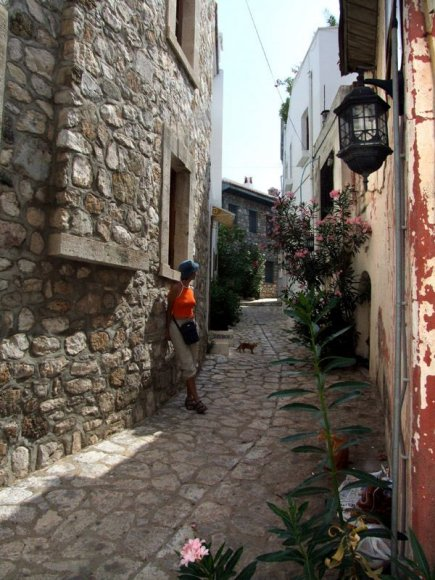 Marmaris - A narrow street in Marmaris