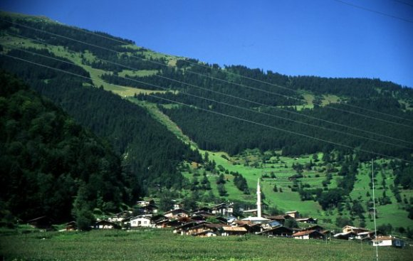 A village in highland of Trabzon